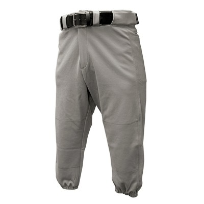 Franklin Sports Youth Classic Fit Deluxe Baseball Pants - Gray