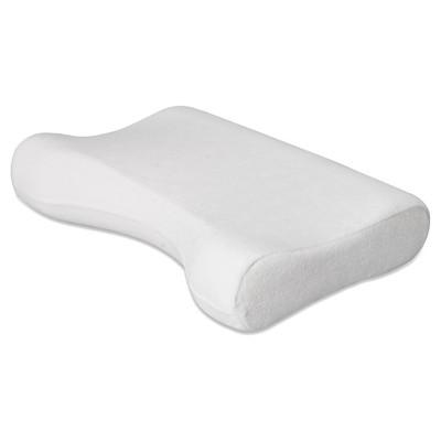 contour products cervical pillow white standard