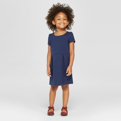 Toddler Girls' Uniform Knit Jumpers - Cat & Jack™ Navy