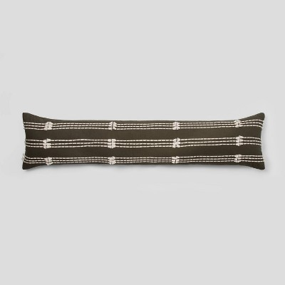 bed lumbar clipped decorative pillow olive project 62