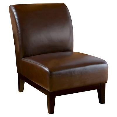 brown slipper chair dxracer gaming chairs darcy christopher knight home target