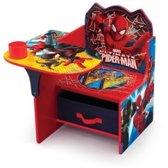 Spiderman Table And Chairs Barber For Sale Used Delta Children Marvel Spider Man Chair Desk With Storage Bin Target