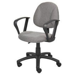 Posture Deluxe Chair Pedicure Chairs With Loop Arms Gray Boss Target