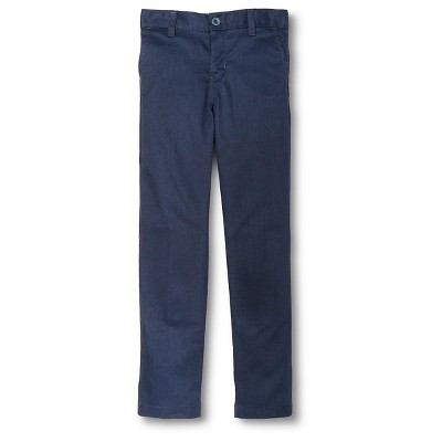 Dickies® Boys' Slim Fit Flat Front Pants