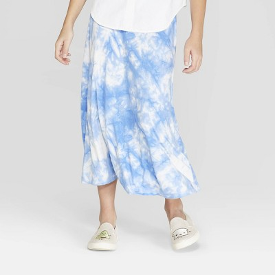 Girls' Tie dye Maxi Skirt - Cat & Jack™ Blue