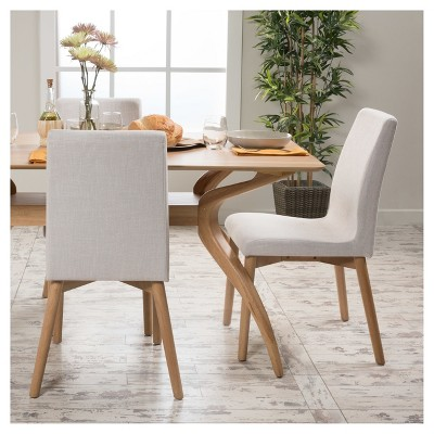 light wood dining chairs folding with padded seat helen chair beige set of 2 christopher knight home target
