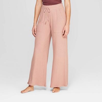 Women's Wide Rib Wide Leg Lounge Pants - Stars Above™