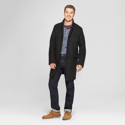 Men's Unlined Overcoat Jacket - Goodfellow & Co™ Gray