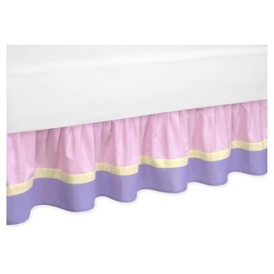 Pink & Purple Bed Skirt - Sweet Jojo Designs®