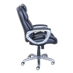 Serta Office Chair Warranty Claim Swivel Home Goods My Fit Executive With Tailored Reach Black Target