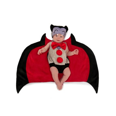 Baby Swaddle Wings Bat Halloween Costume - Princess Paradise
