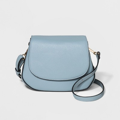 Everyday Essentials Saddle Crossbody Bag - A New Day™