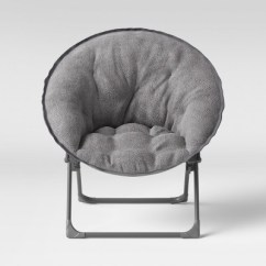 Saucer Chair For Kids Bulk Chairs Fuzzy Gray Pillowfort Target