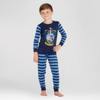 Boys' Harry Potter Ravenclaw 2pc Pajama Set - Navy