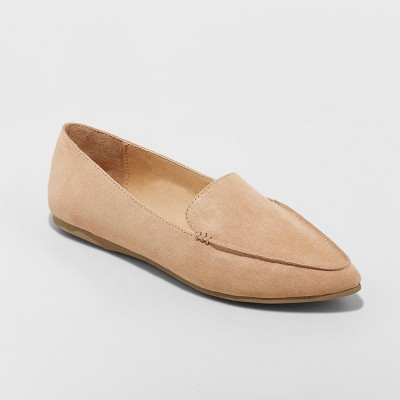 Women's Micah Pointy Toe Loafers - A New Day™