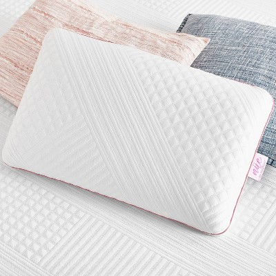 king cooling gel memory foam bed pillow with antimicrobial cover ne by novaform