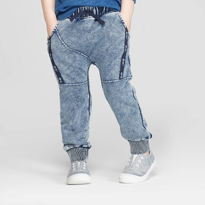 Toddler Boys' Jogger Pants - art class™ Blue Wash