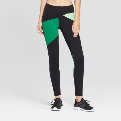 Women's Premium Asymmetrical Color Block 7/8 Mid-Rise Leggings - JoyLab™