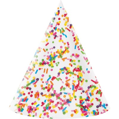 8ct confetti sprinkles party