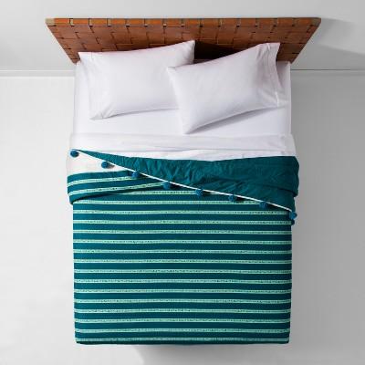Seine Pom-Pom Stripe Quilt - Opalhouse™