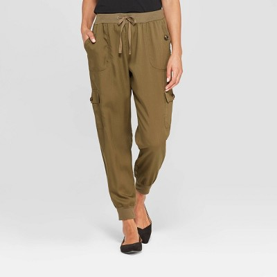 Women's Mid-Rise Ankle Length Cargo Pants - Knox Rose™