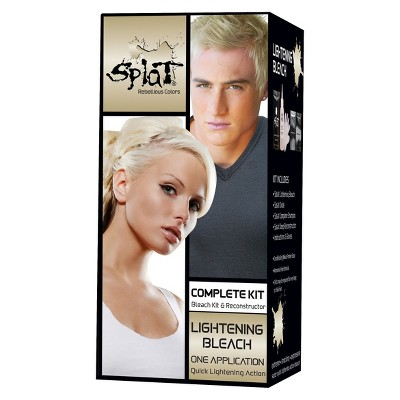 splat hair bleach and color kit