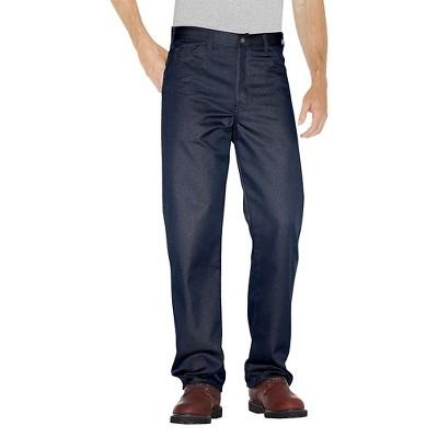 Dickies® Men's Regular Straight Fit Twill 5- Pocket StayDark® Work Pants- Dark Navy 32X30
