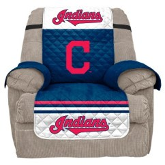Recliner Chair Covers Target Ikea Poang Ireland Mlb Cleveland Indians Slipcover About This Item