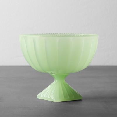 Pedestal Dessert Bowl Green - Hearth & Hand™ with Magnolia