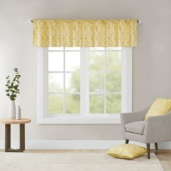 Living Room Window Valances Small And Kitchen Layouts Natalie Printed Diamond Valance Target