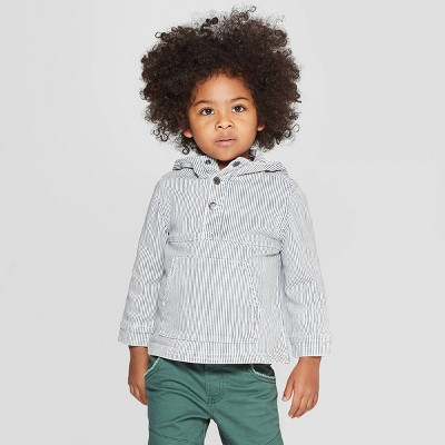 Genuine Kids® from OshKosh Toddler Boys' Denim Pullover Jacket - Light Bleach Wash