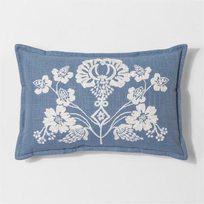 Floral Lumbar Pillow  Threshold  Target