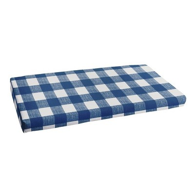18 x 55 anderson indoor outdoor bench cushion bristol zaffre blue sorra home