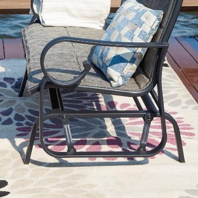 metal glider patio furniture target