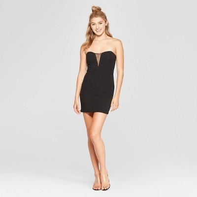 Women's Sleeveless Glitter Knit Bodycon Dress - Lots of Love by Speechless (Juniors') Black