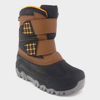 Boys' Neko Double Strap Winter Boots - Cat & Jack™