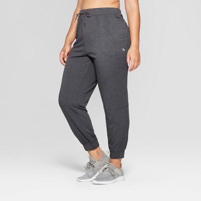 Women's Plus Fleece Sweat Pants - JoyLab™