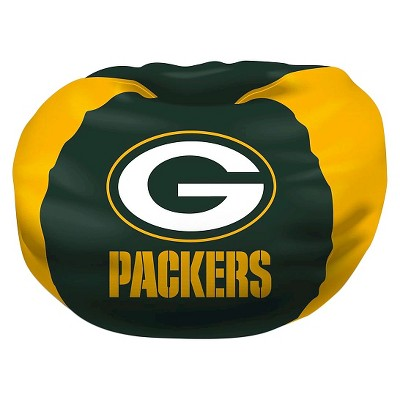 green bay packers chair poang cushion replacement northwest bean bag target nfl
