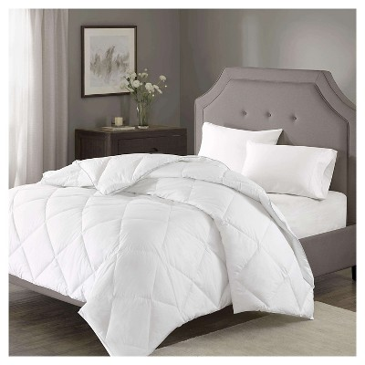 Diamond Quilting 1000 Thread Count Cotton Rich Down Alternative Comforter