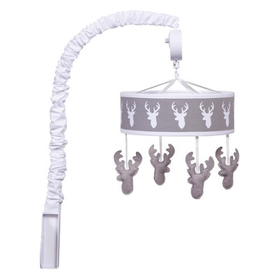 Trend Lab Musical Mobile Stag Head - Gray