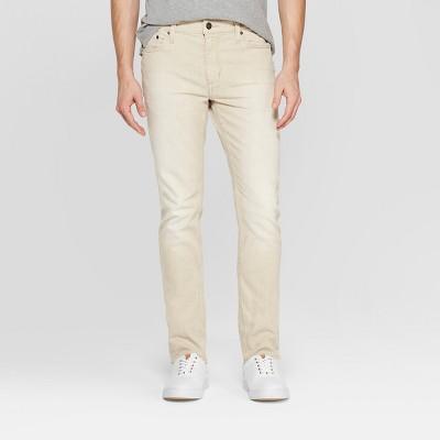 Men's Slim Fit Jeans - Goodfellow & Co™ Khaki