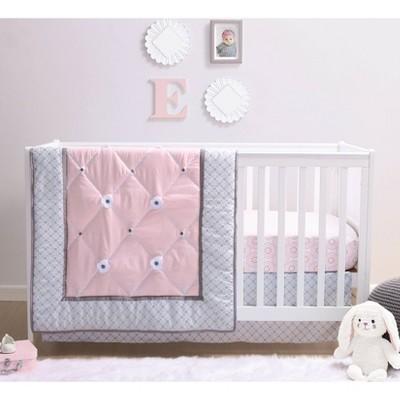 the peanutshell princess crib bedding set 3pc
