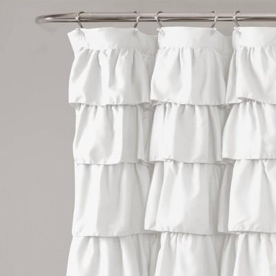 ruffle shower curtain target