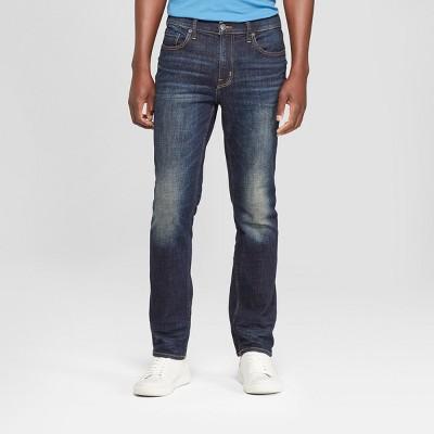 Men's Slim Straight Fit Jeans - Goodfellow & Co™ Dark Wash