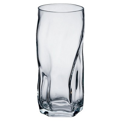 Bormioli Rocco Sorgente Cooler 15.5oz Set of 4 - Clear