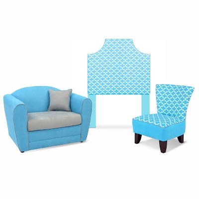Fulton Coastal - Blue Tween Furniture Collection - Kangaroo