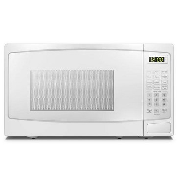 danby 7 cu ft countertop microwave in white