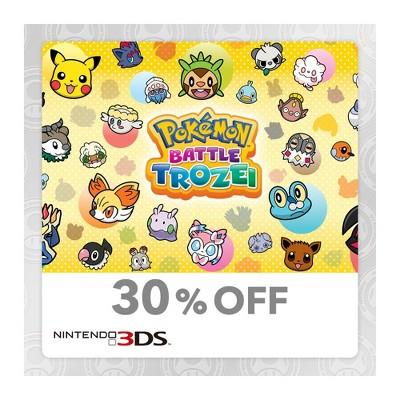 Pokemon Battle Trozei - Nintendo 3DS (Digital)