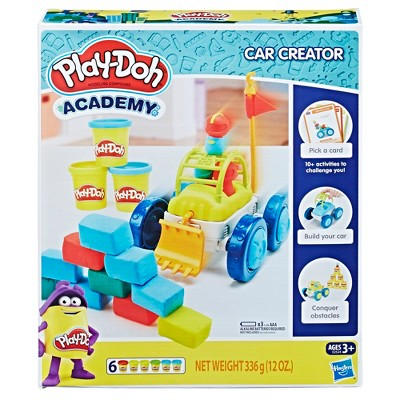 Play-Doh Academy Car Creator Kit