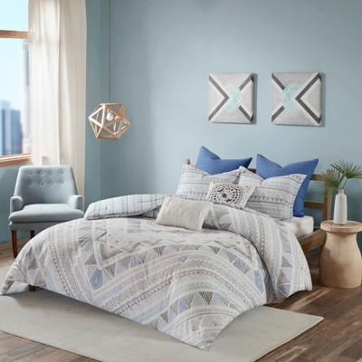 Sydney Cotton Reversible Comforter Set 7pc